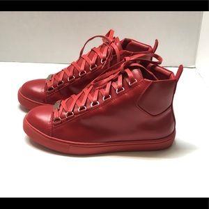 Balenciaga Arena Sneakers Low Top Leather EUR 38